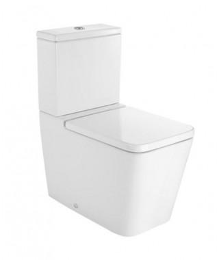 Miska WC o/podwójny do kompaktu Square ROCA INSPIRA