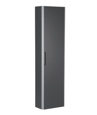 Kolumna wysoka 150 cm ROCA DAMA-N antracyt połysk
