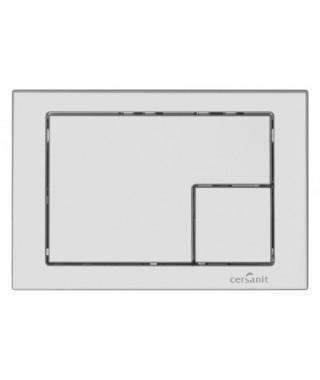 Przycisk chrom mat CERSANIT LINK kwadrat