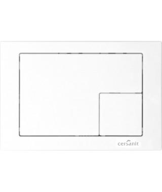 Przycisk biały CERSANIT LINK kwadrat