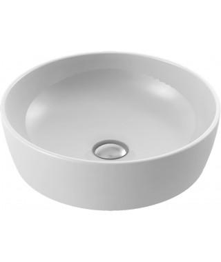 Umywalka okrągła nablatowa 42 cm CERASTYLE ONE