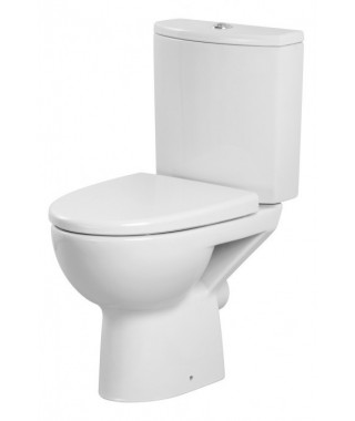 WC kompakt CERSANIT PARVA odpływ poziomy + deska duroplast