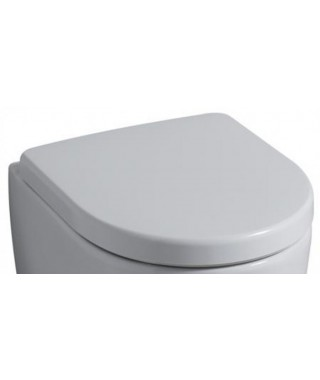 Deska sedesowa KERAMAG iCON z tworzywa duraplast, zawiasy metalowe