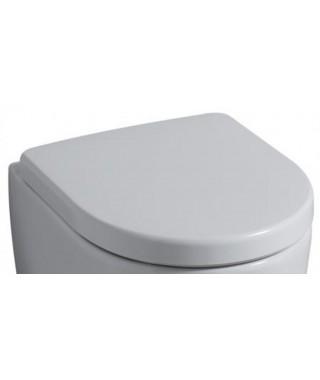 Deska sedesowa wolnoopadająca KERAMAG iCON z tworzywa duraplast, zawiasy metalowe