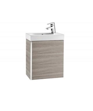 Mini Zestaw łazienkowy ROCA Unik z drzwiami 45 cm piasek tekstura