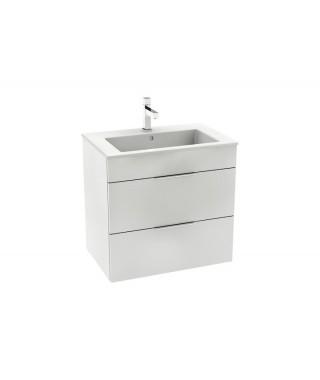 Zestaw łazienkowy ROCA Unik Suit 65 cm z 2 szufladami biały połysk A851180806