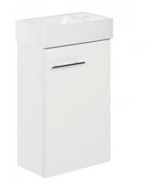 Zestaw łazienkowy KIM D40 szafka + umywalka 40 biały połysk DEFTRANS