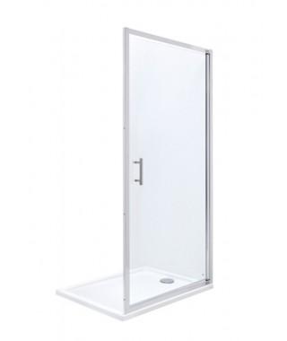 Drzwi prysznicowe jednoczęściowe ROCA TOWN NEW 80x195cm z powłoką MaxiClean AMP2708012M