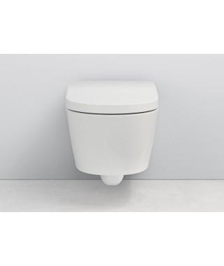 ROCA INSPIRA IN-WASH Miska podwieszana wc RIMLESS z deską myjącą A803060001