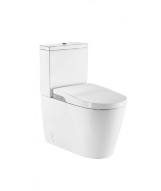 WC kompakt stojący ROCA INSPIRA IN-WASH RIMLESS z deską myjącą A80306L001