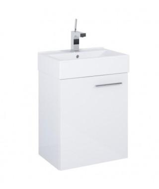 Szafka podumywalkowa + umywalka 45 cm ELITA SET TINY 45 1D WHITE