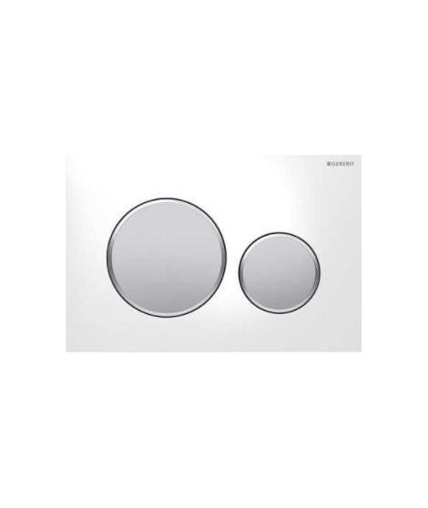 Przycisk spłukujący GEBERIT SIGMA 20 biały/chrom matowy/matowy