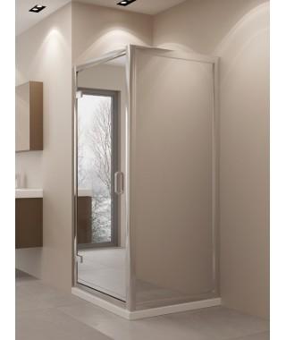 Kabina prysznicowa NEW TRENDY LUMINA 90x90x195 szkło lustro