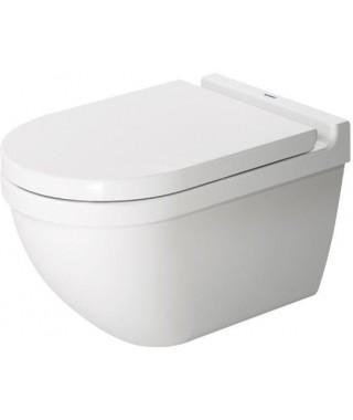 Starck 3 zestaw WC miska Rimless wisząca z deską wolnoopadającą DURAVIT