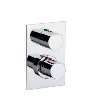 Bateria wannowo-natryskowa podtynkowa z termostatem ROCA MOAI-T