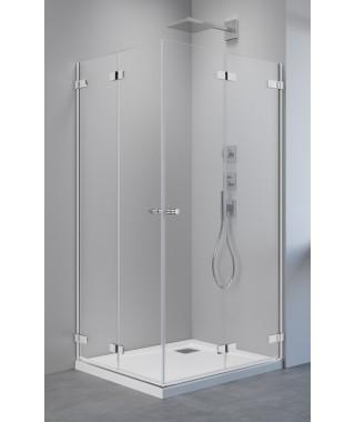 Drzwi prysznicowe ARTA KDD B 80cm RADAWAY lewe do kabiny narożnej dwudrzwiowej