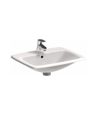 KOŁO NOVA PRO Umywalka wpuszczana w blat prostokątna 55 cm z otworem z przelewem M31856000