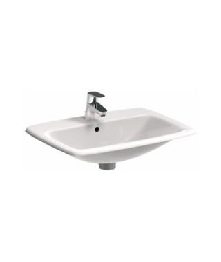 KOŁO NOVA PRO Umywalka wpuszczana w blat prostokątna 60 cm z otworem z przelewem M31861000