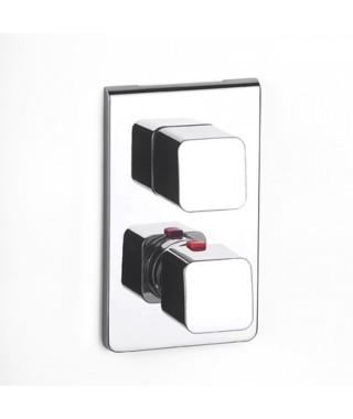 Bateria wannowo-natryskowa podtynkowa z termostatem ROCA THESIS