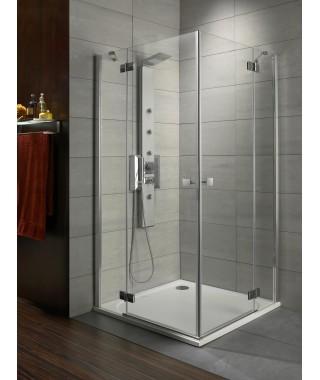 Kabina prysznicowa 90x90cm ALMATEA KDD RADAWAY szkło brązowe