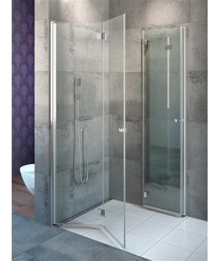 Kabina kwadratowa 100x100cm EOS KDD-B RADAWAY szkło przejrzyste