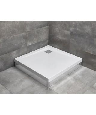 Brodzik kwadratowy 100x100x14,5cm RADAWAY ARGOS C (z możliwością dokupienia obudowy)