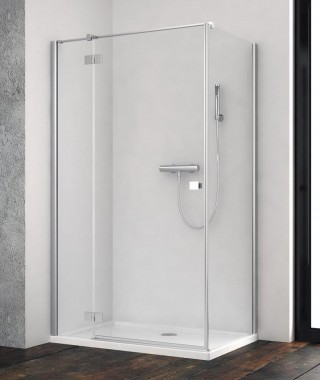Drzwi prysznicowe 90cm ESSENZA NEW KDJ RADAWAY lewe